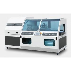 DM PACK - FLO, Pakirni stroj za pakiranje v termo folijo (polrokav) z L-letvijo