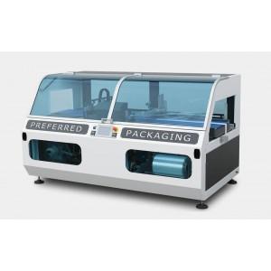 DM PACK - SOL, Pakirni stroj za pakiranje v termo folijo (polrokav) z neskončnim vzdolžnim varjenjem