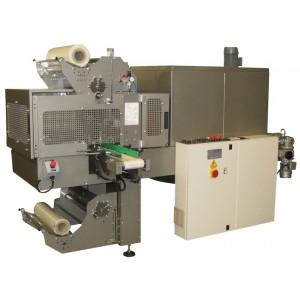 """GRAMEGNA MS 50-1, Avtomatski stroj za pakiranje izdelkov po sistemu """"bundle"""" vstopnim trakom pod kotom 90°"""
