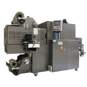 """GRAMEGNA MS 50-1 PLC, Avtomatski stroj za pakiranje izdelkov po sistemu """"bundle"""" vstopnim trakom pod kotom 90°"""