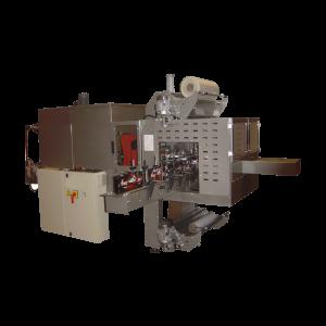 """GRAMEGNA MS 70-1, Avtomatski stroj za pakiranje izdelkov po sistemu """"bundle"""" vstopnim trakom pod kotom 90°"""