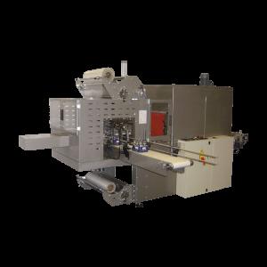 """GRAMEGNA MS 90-1, Avtomatski stroj za pakiranje izdelkov po sistemu """"bundle"""" vstopnim trakom pod kotom 90°"""
